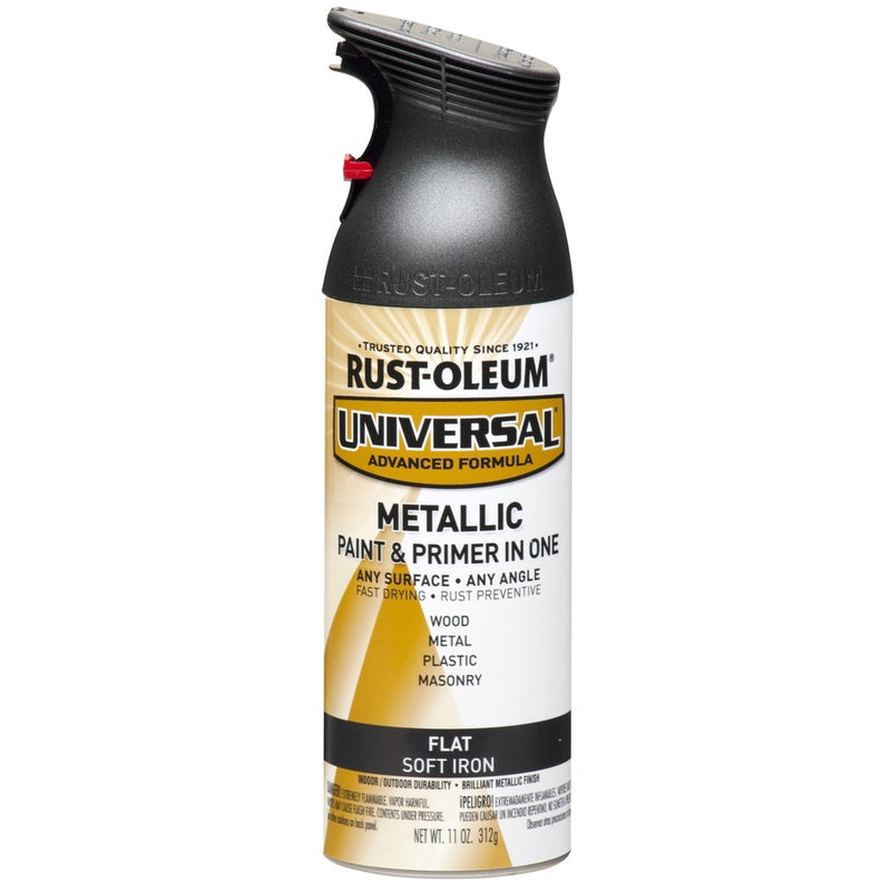 Flat Metallic Spray Paint