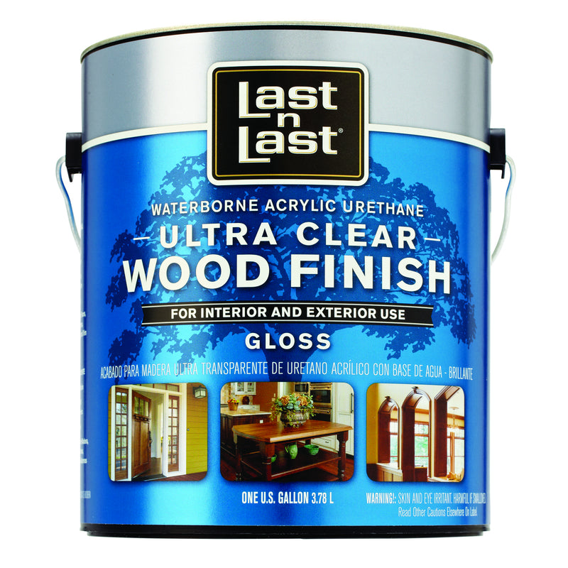 Last•n•Last Ultra Clear Wood Finish
