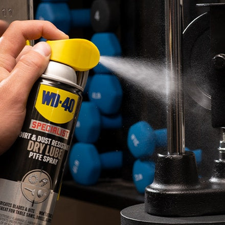 WD-40 10 oz. Specialist Dirt & Dust Resistant Dry Lube PTFE Spray