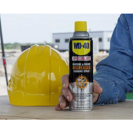 WD-40 18 oz. Specialist Machine & Engine Degreaser Foaming Spray