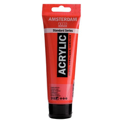 Amsterdam Standard Series Acrylic Tube 120 ml Pyrrole Red 315
