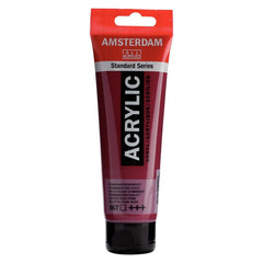 Amsterdam Standard Series Acrylic Tube 120 ml Permanent Red Violet 567