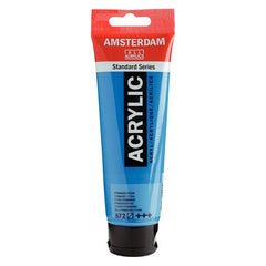 Amsterdam Standard Series Acrylic Tube 120 ml Primary Cyan 572