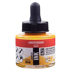 Amsterdam Acrylic Ink Bottle 30 ml Azo Yellow Deep 270