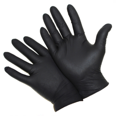 West Chester 2920 5 Mil Industrial Grade Powder Free Black Nitrile Gloves