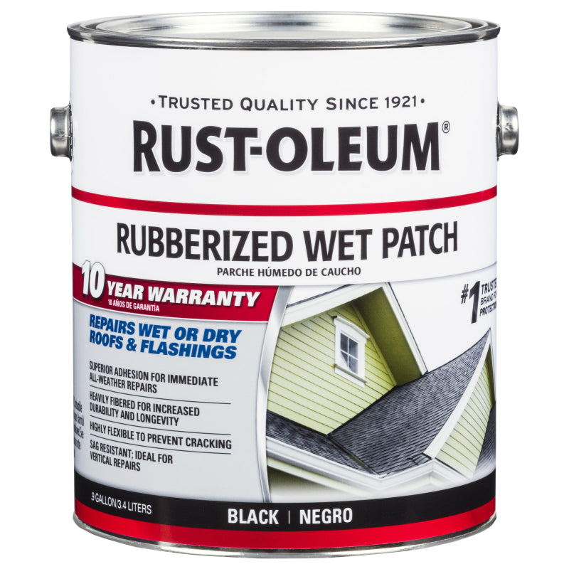 Rubberized Wet Patch