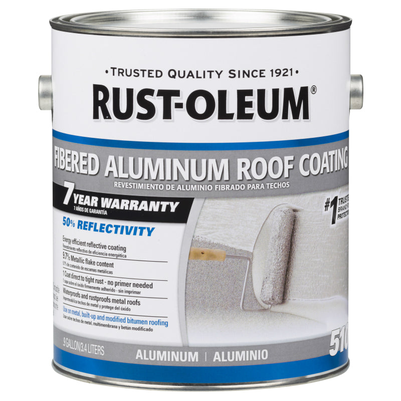 7 Year Fibered Aluminum Roof Coating