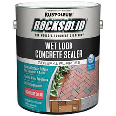 Rust-Oleum RockSolid 1 Gallon High Gloss Clear Wet Look Concrete Sealer