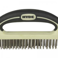MAXXGRIP PRO Stainless Steel Wire Brush, 8
