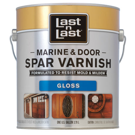 Last•n•Last Marine & Door Spar Varnish