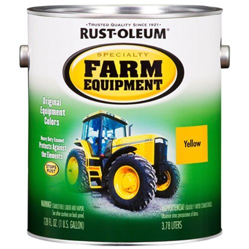Rust-Oleum Specialty 1G Caterpillar Yellow Farm Equipment Enamel