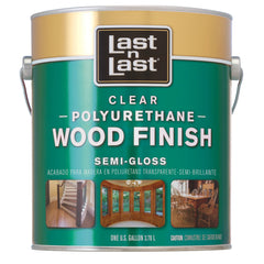 Last•n•Last Clear Polyurethane Wood Finish