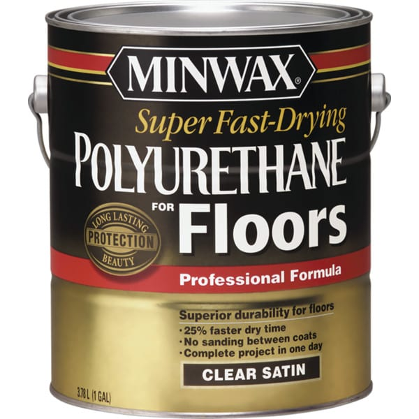 Super Fast-Drying Polyurethane for Floors