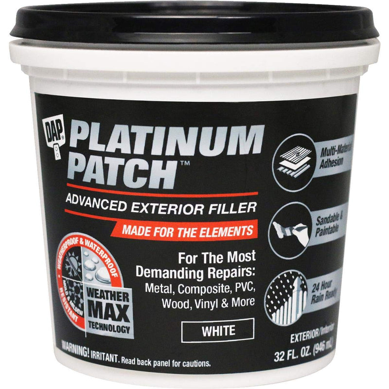 DAP Platinum Patch Advanced Exterior Filler