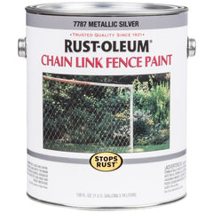 Stops Rust Chain Link Fence Paint