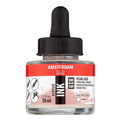 Amsterdam Acrylic Ink Bottle 30 ml Pearl Red 819