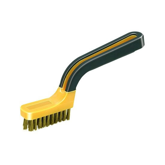Soft Grip Narrow Brass Stripper Brush, 1/card – BB1