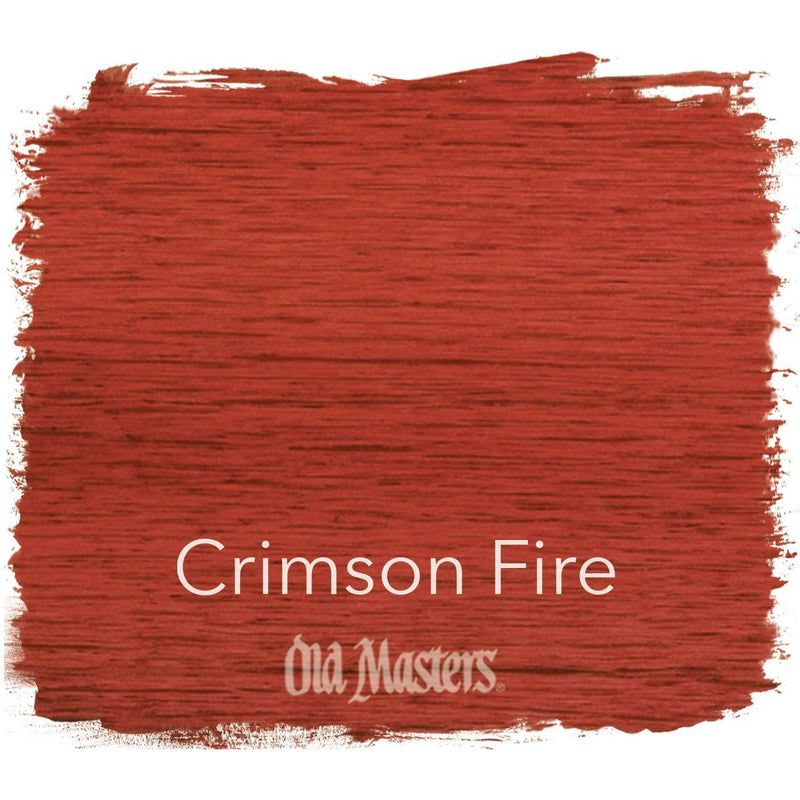 Old Masters Crimson Fire Penetrating Stain