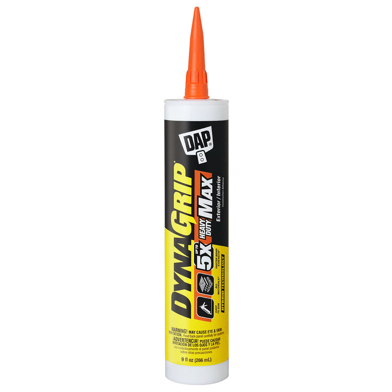 DAP DynaGrip Heavy Duty Max Construction Adhesive, 9 fl. oz.
