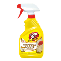 Goof Off Paint Remover for Carpet, 12 oz.