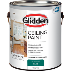 Glidden Ceiling Paint - Grab-N-Go - Interior Flat White