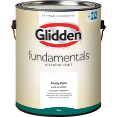 Glidden Fundamentals Interior Paint - Flat