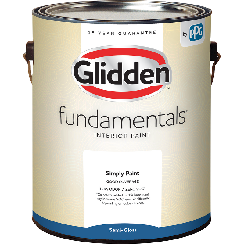 Glidden Fundamentals Interior Paint - Semi-Gloss