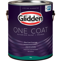 Glidden One Coat - Exterior - Flat