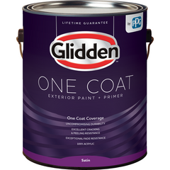 Glidden One Coat - Exterior - Satin