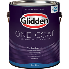 Glidden One Coat - Exterior - Semi-Gloss