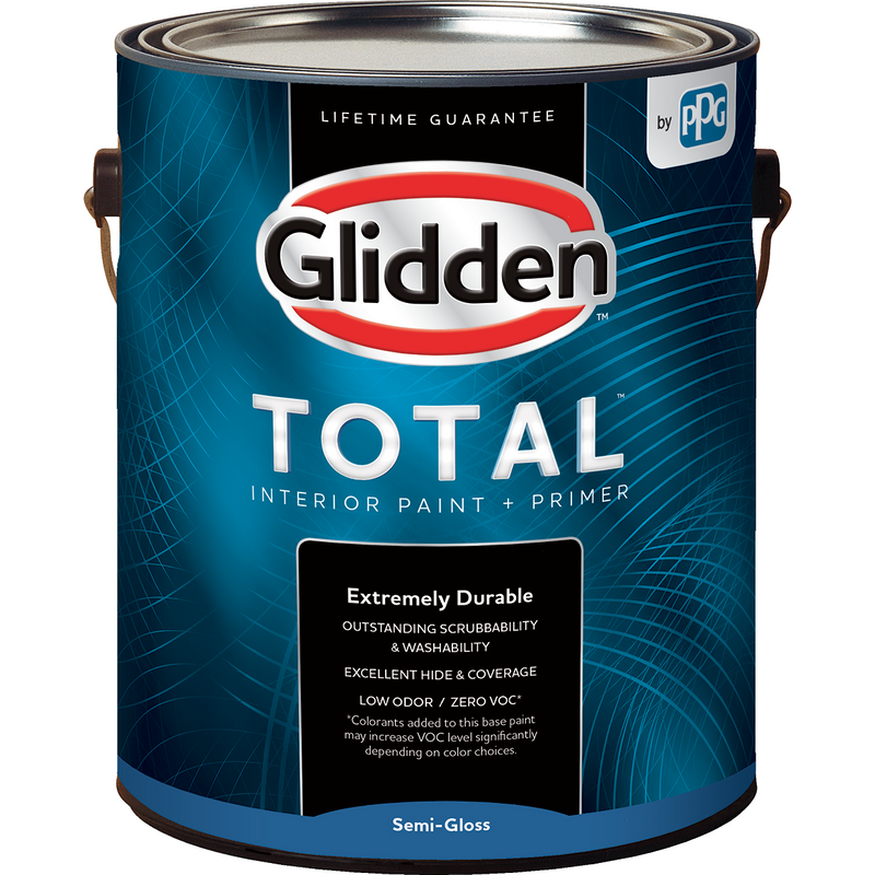 Glidden Total - Interior - Flat - Semi-Gloss