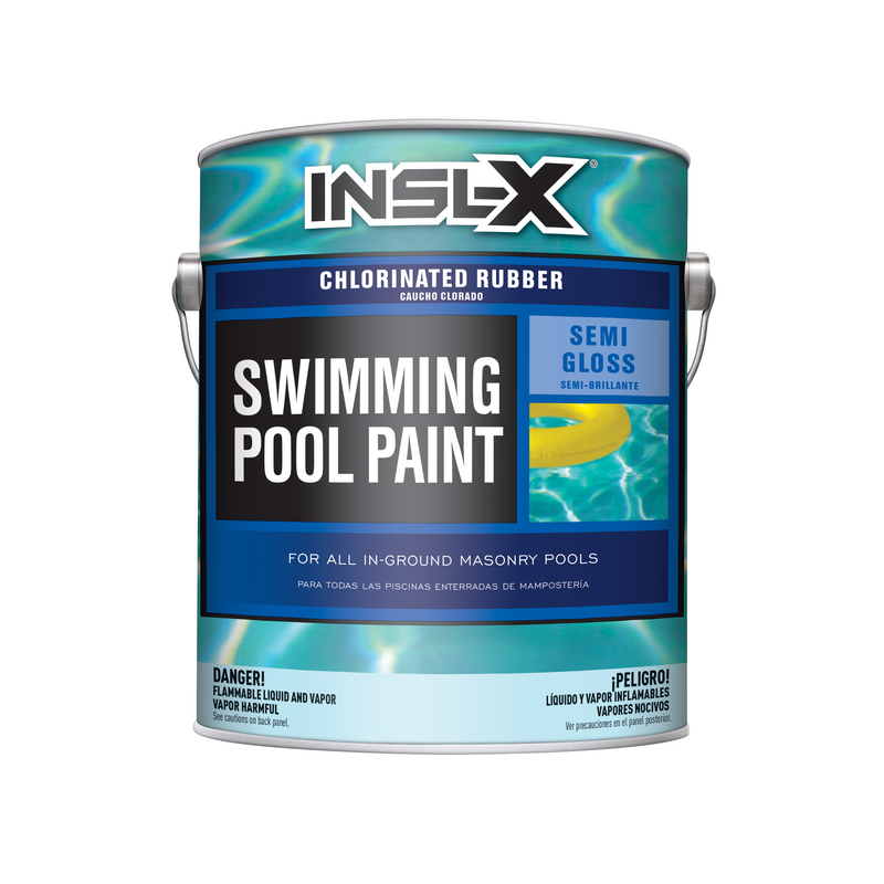 Chlorinated Rubber Swimming Pool Paint Semi-Gloss Finish CR-26XX