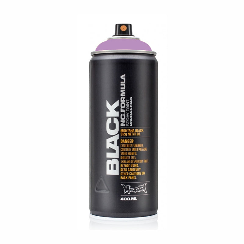 Montana BLACK High-Pressure Cans Spray Color, 400ml Cans, Ms Jackson