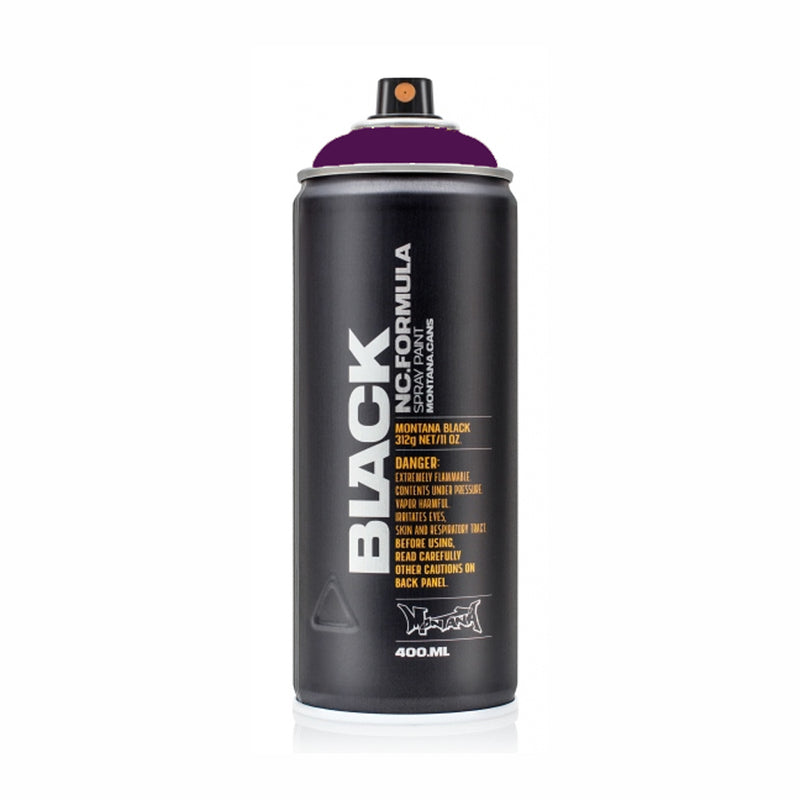 Montana BLACK High-Pressure Cans Spray Color, 400ml Cans, Galaxy