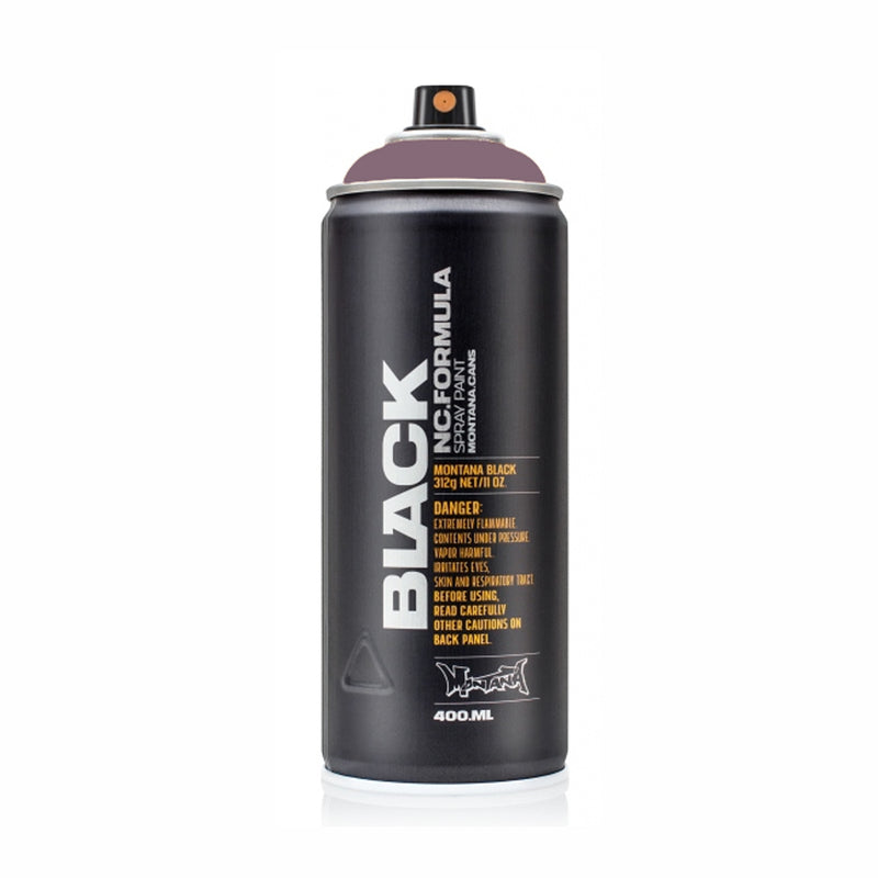 Montana BLACK High-Pressure Cans Spray Color, 400ml Cans, Kidney