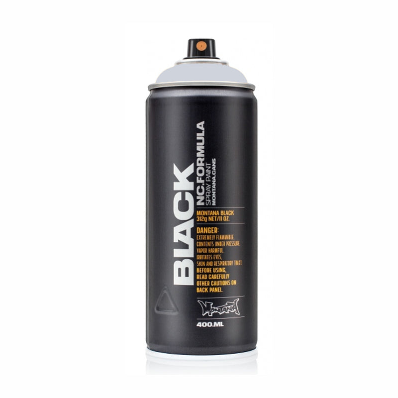 Montana BLACK High-Pressure Cans Spray Color, 400ml Cans, Edelgard