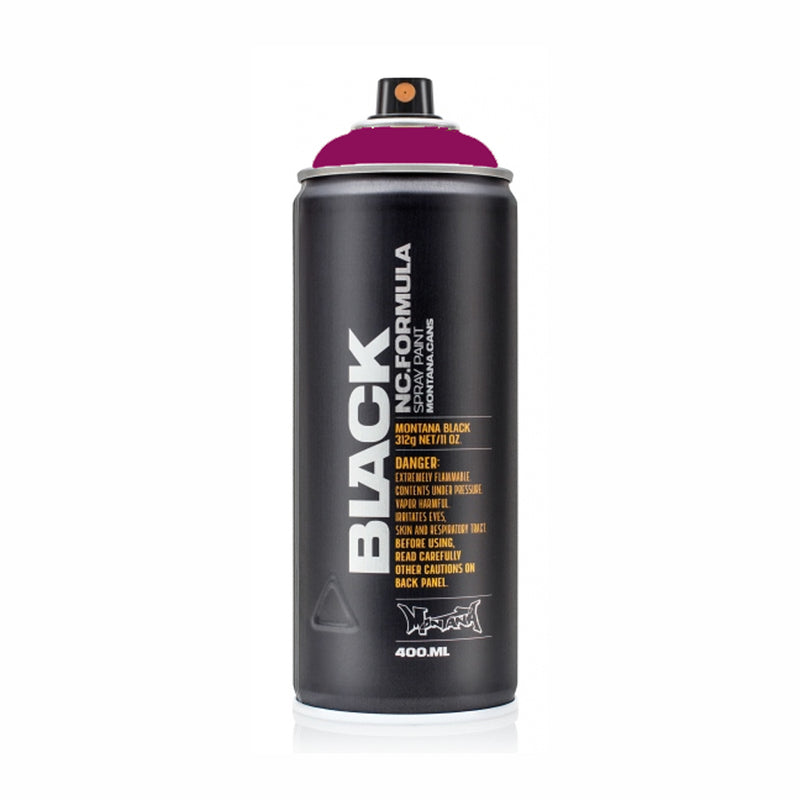 Montana BLACK High-Pressure Cans Spray Color, 400ml Cans, Imperator