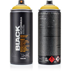 Montana BLACK High-Pressure Cans Spray Color, 400ml Cans, Indian Spice
