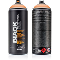 Montana BLACK High-Pressure Cans Spray Color, 400ml Cans, Tomorrow