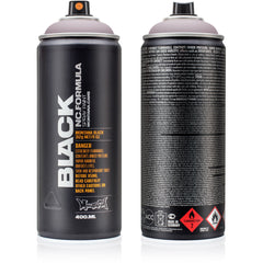 Montana BLACK High-Pressure Cans Spray Color, 400ml Cans, Gut