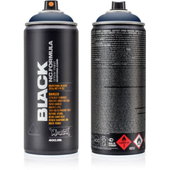 Montana BLACK High-Pressure Cans Spray Color, 400ml Cans, Dark Indigo
