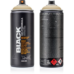 Montana BLACK High-Pressure Cans Spray Color, 400ml Cans, Arabian