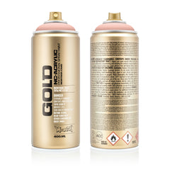 Montana GOLD Spray Color, Shrimp Pastel - 400ml Spray Can