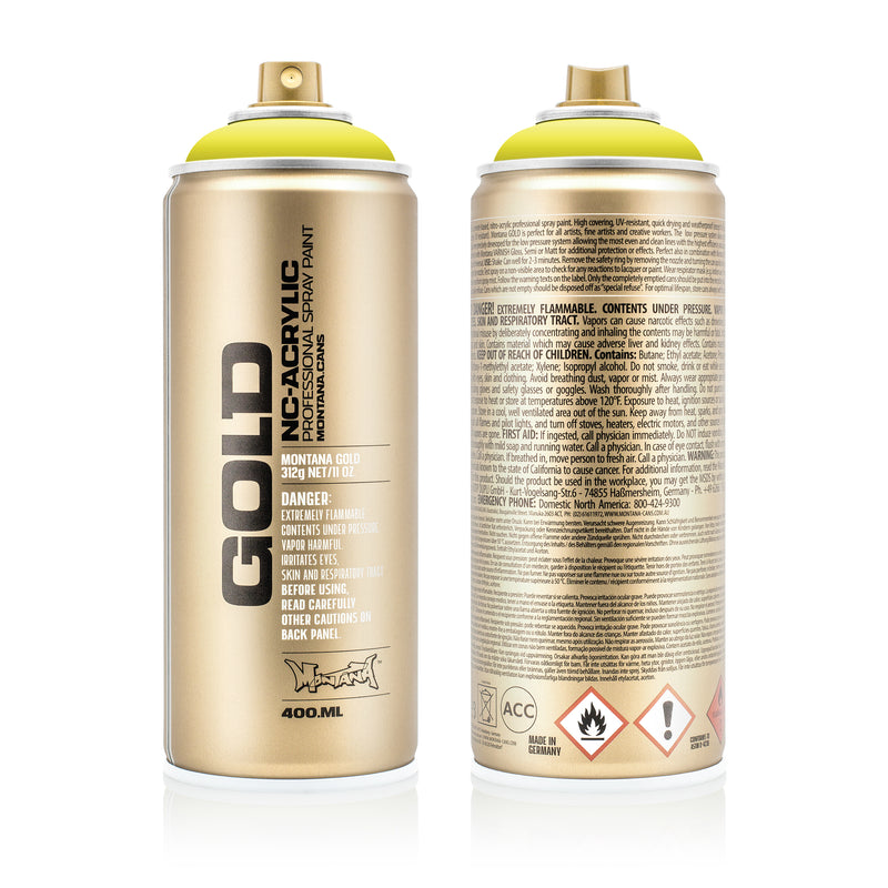 Montana GOLD Spray Color, Poison Pastel - 400ml Spray Can
