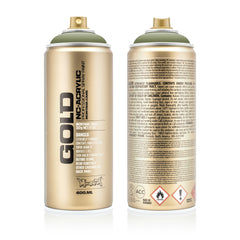 Montana GOLD Spray Color, Manila Green - 400ml Spray Can