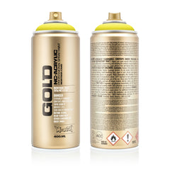 Montana GOLD Spray Color, Brimstone - 400ml Spray Can