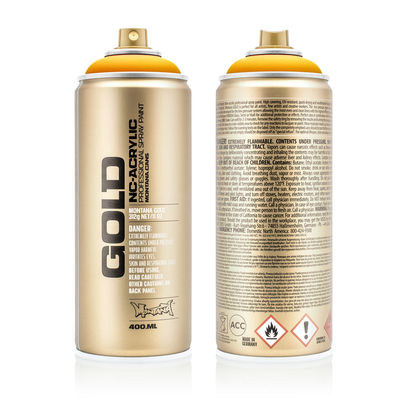 Montana GOLD Spray Color, Yolk - 400ml Spray Can