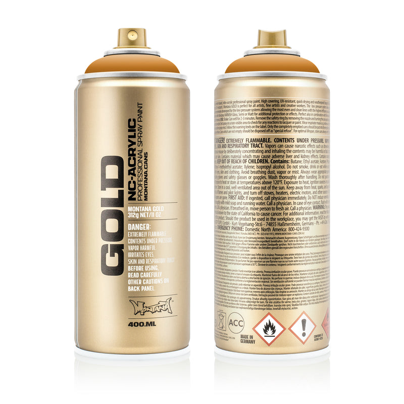 Montana GOLD Spray Color, Terra - 400ml Spray Can