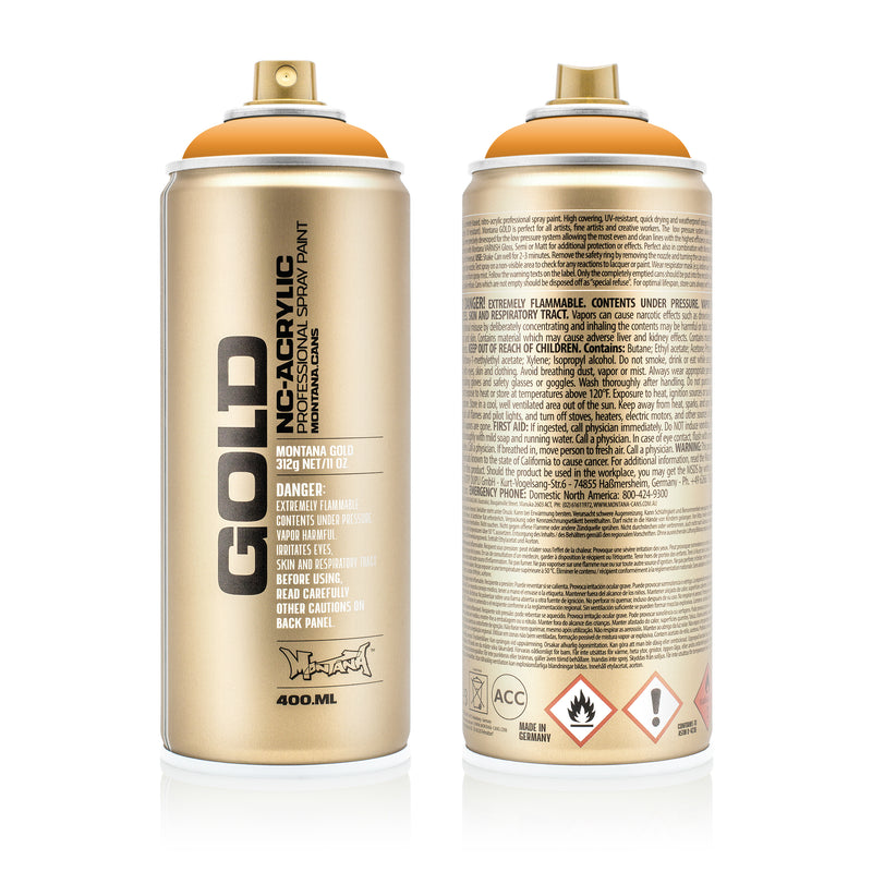 Montana GOLD Spray Color, Scampi - 400ml Spray Can