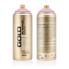 Montana GOLD Spray Color, Frozen Raspberry - 400ml Spray Can